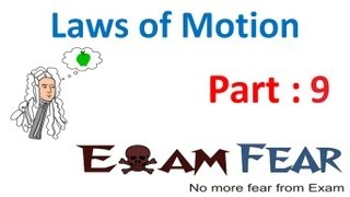 Physics Laws of motion part 9 Conservation of momentum CBSE class 11