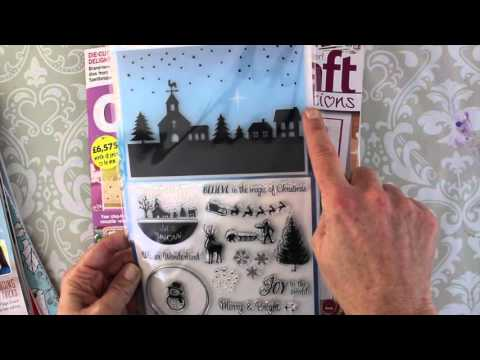 UK Holiday Craft Magazines with FREEBIES