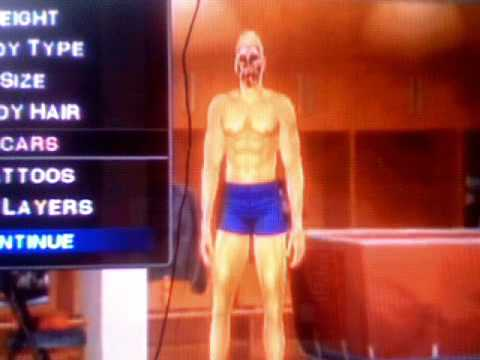 how to make freddy kruger on wwe 2011 wii