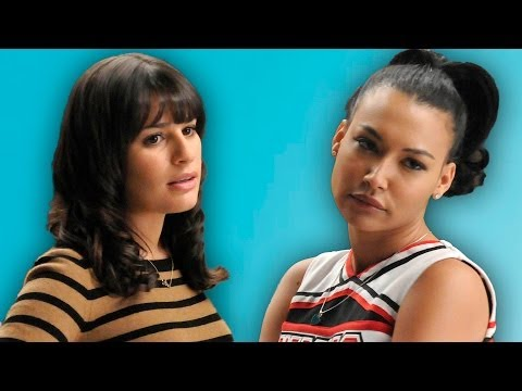 Lea Michele Naya Rivera Glee Feud Explained