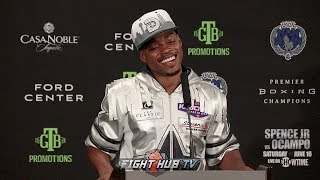 ERROL SPENCE'S FULL POST FIGHT PRESS CONFERENCE - SPENCE VS OCAMPO VIDEO