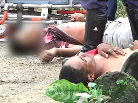 Dupla de assaltantes reagem a prisão e acabam baleados