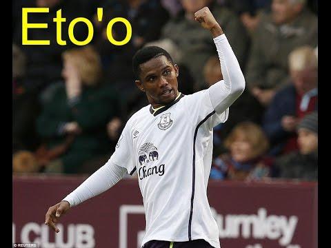 Premier, Burnley 0 - 1 Everton, Eto'o goal 4'