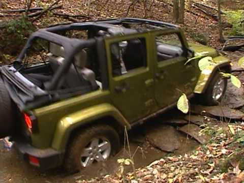 Jeep Wrangler Unlimited Off-Road Video