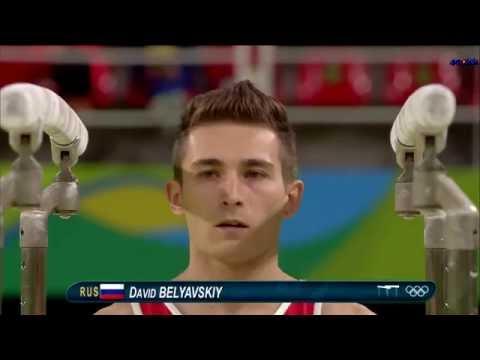 Давид Белявский - бронзовый призёр ОИ в Рио-2016 на брусьях