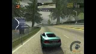 Need For Speed Hot Pursuit 2 Gameplay Aston Martin V12 Vanquish.