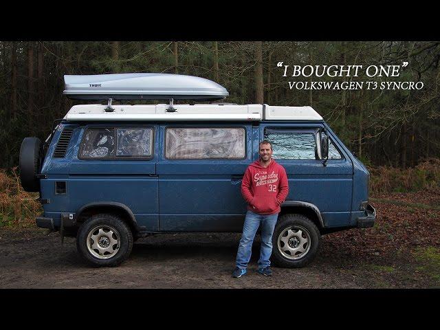 Volkswagen T3 Syncro - I Bought One | Lloyd Tulloch