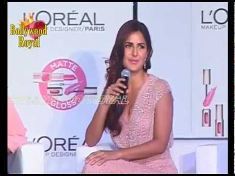 Sonam Kapoor, Katrina Kaif Unveil New Cannes Collection together with L'Oreal Part 1