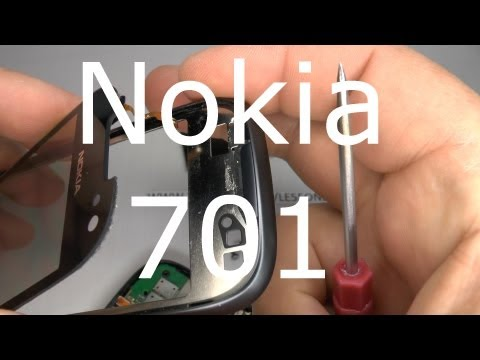 Nokia 701 Disassembly & Assembly - Digitizer Touch Screen & Display Replacement