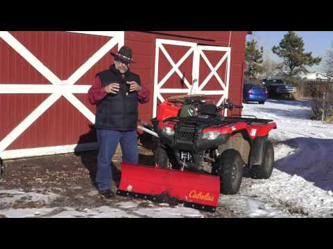 MrTruck ATV Snow Plow install and SureCan gas can review