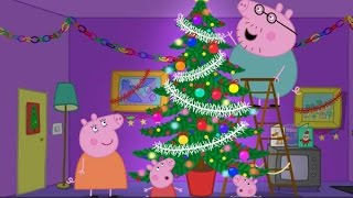 Peppa Pig 2015 - English Full Episodes Christmas Show