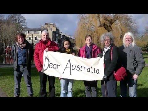 Dear Australia, Let Asylum Seekers Stay! #LetThemStay