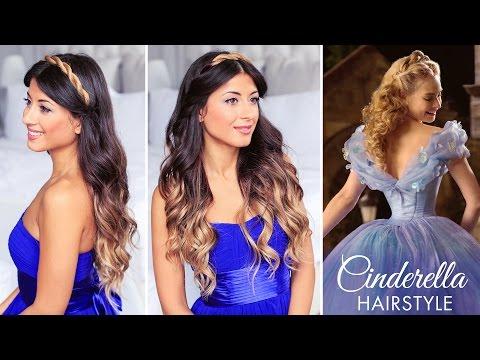 Cinderella Hair Tutorial - Cinderella frizura