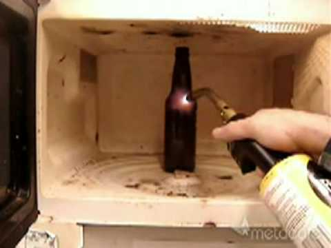 Melt A Frickn  Beer Bottle!