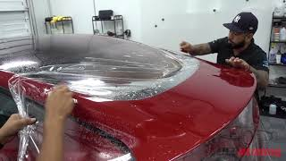 Tesla Model 3 - Full Wrap Paint Protection Film and 3M Crystalline Tint