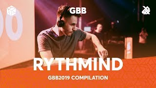RYTHMIND | Grand Beatbox Battle Loopstation Champion 2019 Compilation