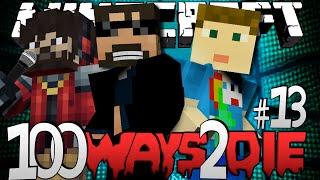 Minecraft 100 Ways To Die | Entire Leg Wax Strip Challenge [13]