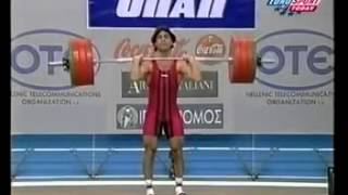 Galabin Boevski 69 kg 1999 World Weightlifting