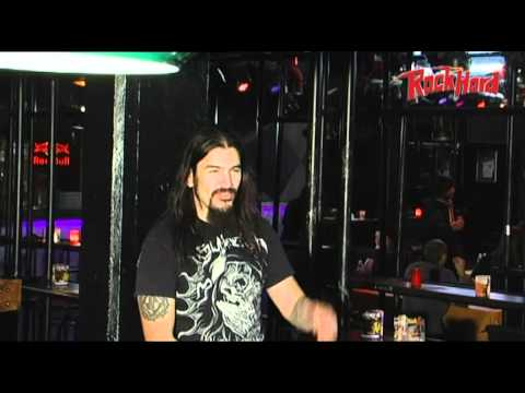 Robb Flynn, guitar/bass tech&tourmanager interviewed by Rock Hard in Hamburg, Germany 2010