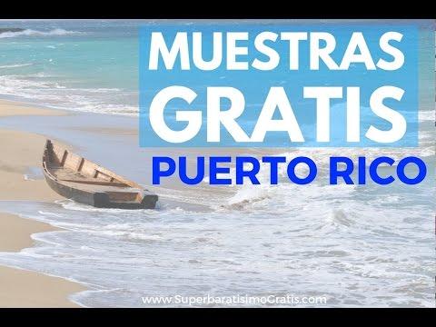 GRATIS muestras de varios productos para Puerto Rico y USA