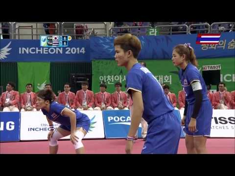 Thailand - Korea 2014 Asian Games Sepaktakraw -gold Medal Match video