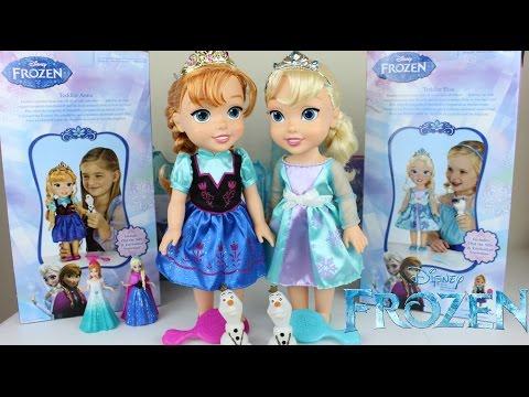 Muñecas Frozen|Una Aventura  Congelada|Ana y Elsa Muñecas|Mundo de Juguetes
