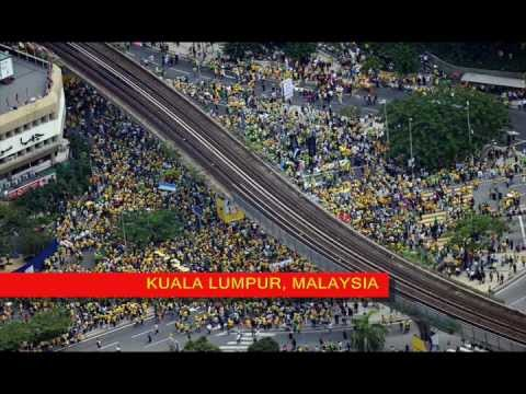 Global Bersih 3.0 (from around the world)