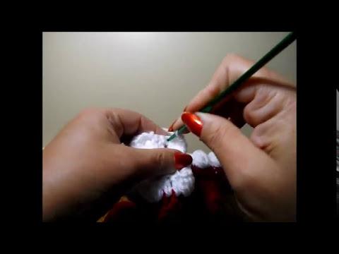 Crochet Gorro Papa' Noel