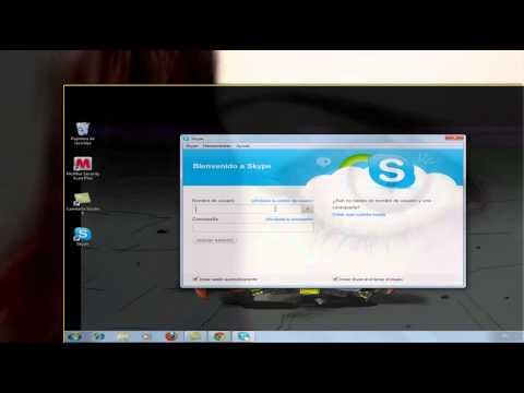 Descarga e instala Skype. Hacer llamadas y vídeo llamadas gratis de Pc a Pc