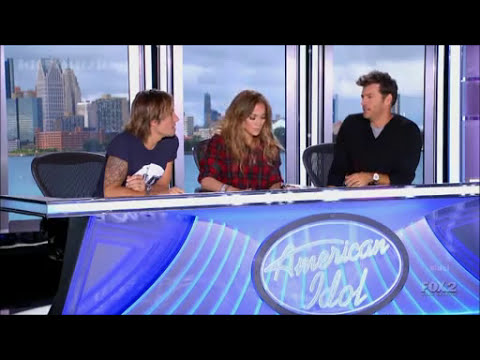 Keri Lynn Roche ~ Radioactive ~ American Idol 2014 Auditions, Detroit (HD)