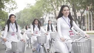 AODAI2018 - Top 20 Gương mặt nữ sinh Áo dài 2018 Roadshow Sài Gòn