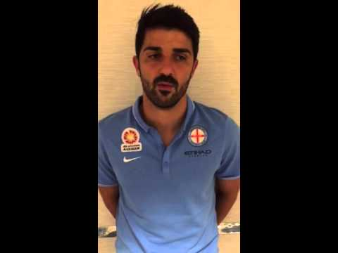 David Villa habla sobre su debut con Melbourne City FC