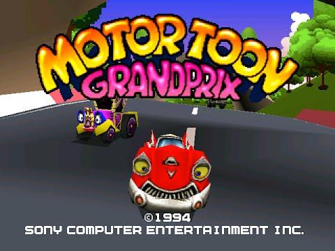 Motor Toon Grand Prix - PSX pour Edward de JV COM [1080 60fps]