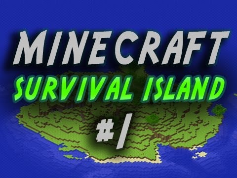 Minecraft Survival Island - Ultimate Survival Islands! w/Mitch, Jerome & Cha