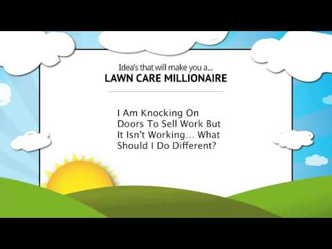How To Sell Lawn Care Service Door To Door (Tips & Advice)