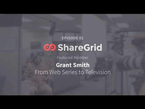 From Web Series to Television - Interview with Grant Smith (Part 1 of 3)