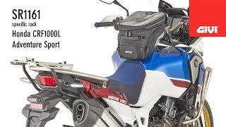 Honda CRF1000L Adventure Sport - Givi SR1161 Specific rack for topcase