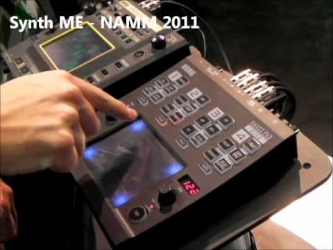 NAMM 2011 - First Look at Korg Kaoss Pad Quad