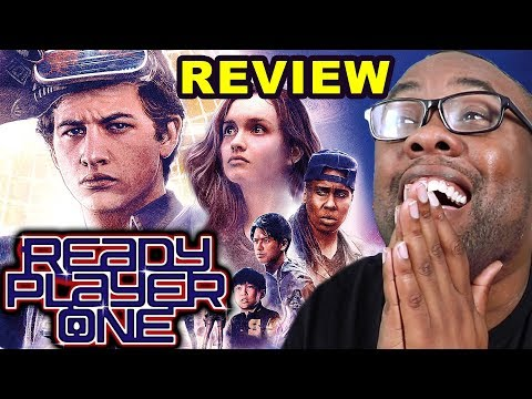 READY PLAYER ONE REVIEW - Too Much Nostalgia? Or Not Enough? (Black Nerd)