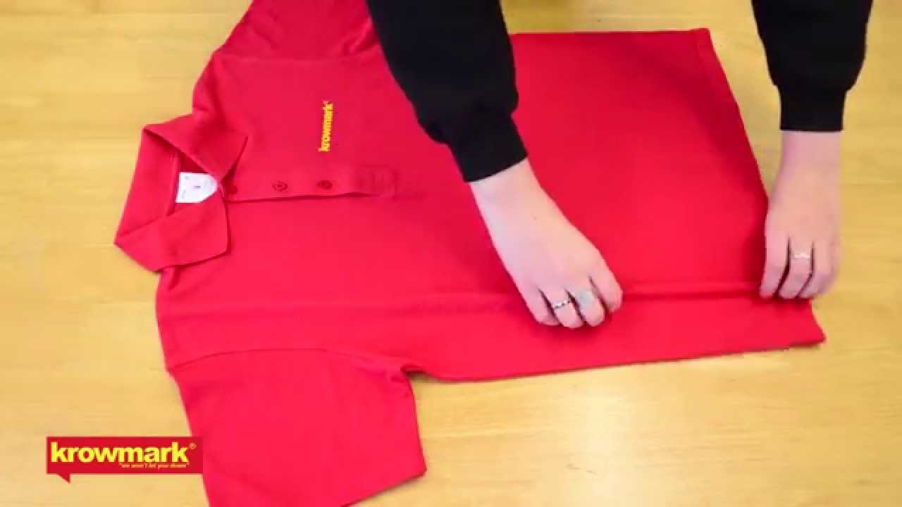 images How to Fold a Shirt for Travel