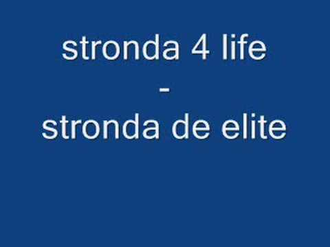 Cover image of song Stronda De Elite by Stronda 4 life
