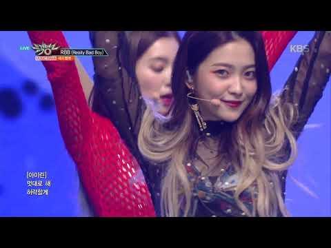 뮤직뱅크 Music Bank - RBB(Really Bad Boy) - 레드벨벳(Red Velvet).20181214