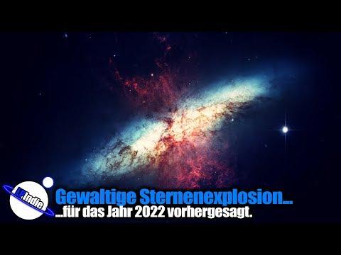Gewaltige Sternenexplosion für 2022 vorhergesagt
