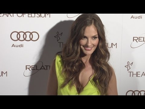 Minka Kelly at The Art Of Elysium 5th Annual Heaven Gala ARRIVALS