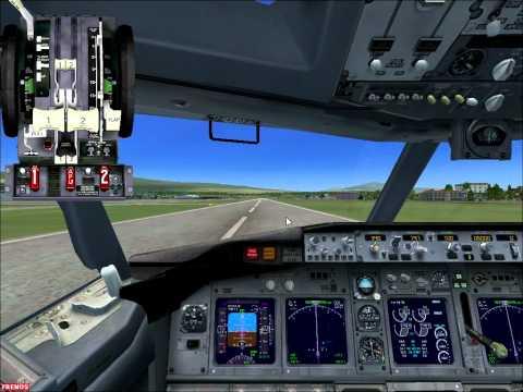 Aterrizaje ILS (MROC) juan santamaria .. FSX