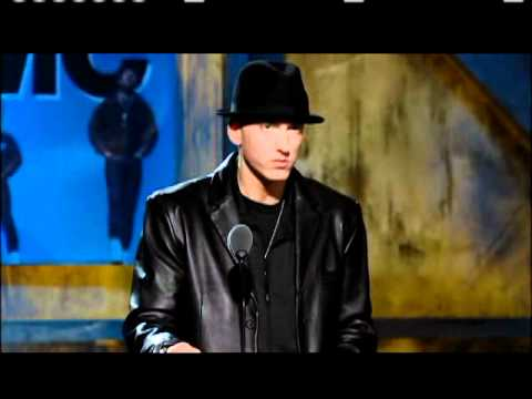 Eminem inducts Run DMC 2009