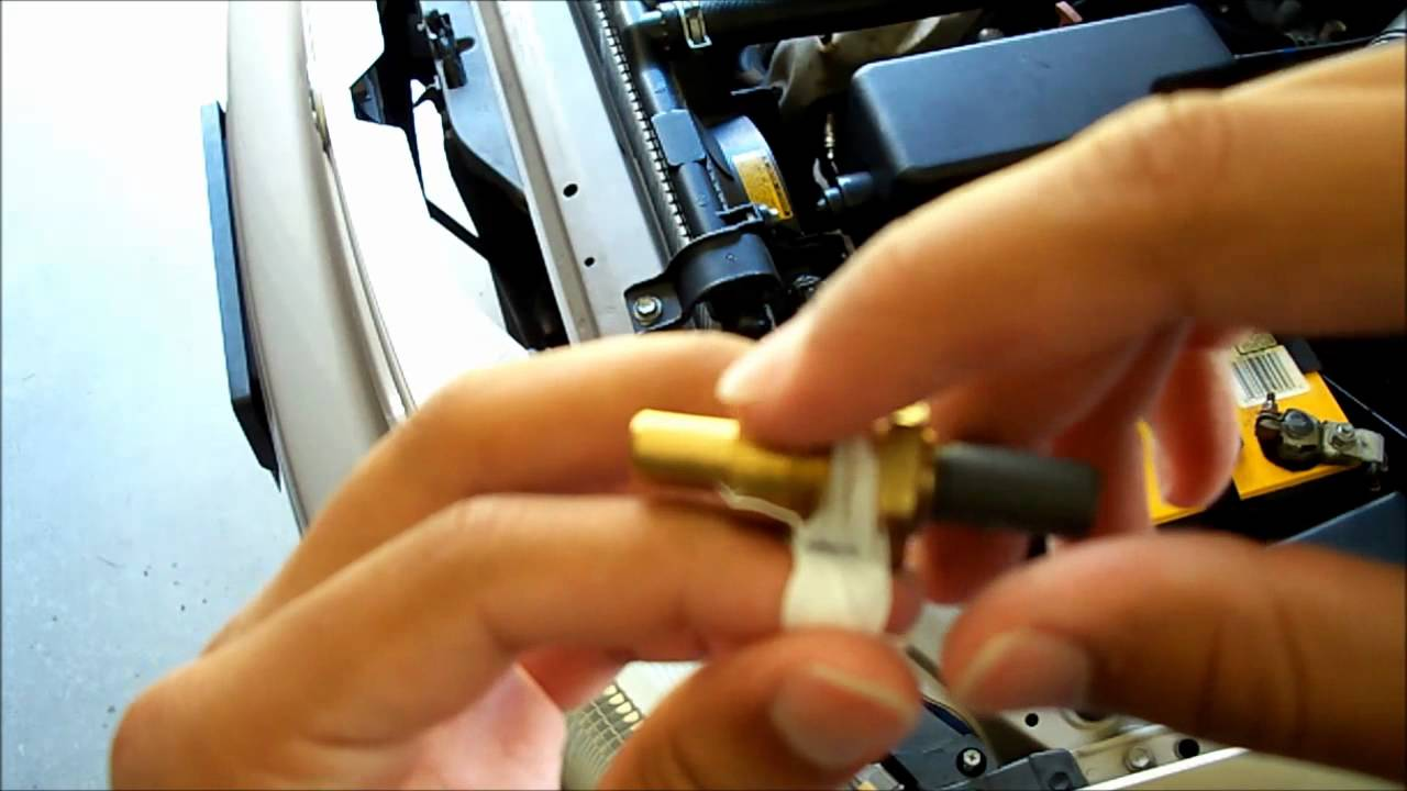 How To Change A Coolant Temperature Sensor Youtube