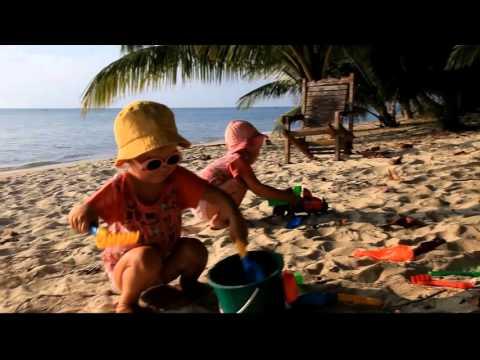 Соня и Лиза в Таиланде, на острове Самуи