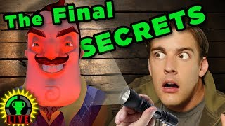 BEYOND The Basement! | Hello Neighbor Alpha 4 (Part 4)