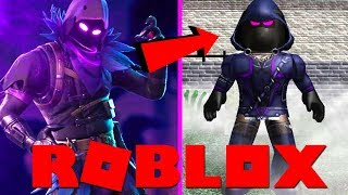 RAVEN IN ROBLOX !! | Roblox Fortnite Tycoon